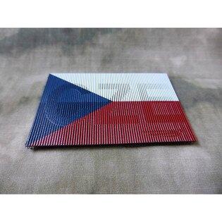 Nášivka vlajka ČR Infrared IR JTG® - barevná