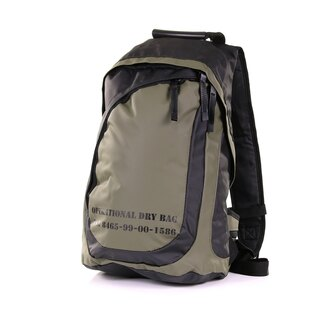 Nepromokavý batoh OPERATIONAL FOSTEX® malý - zelený-oliv