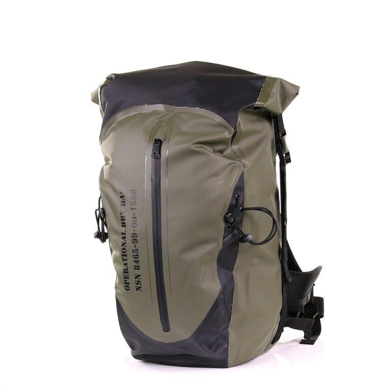 Nepromokavý batoh OPERATIONAL FOSTEX® velký - zelený-oliv