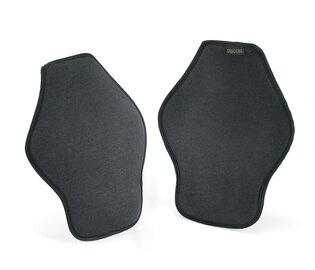 Nízkoprofilové chrániče kolen Defcon5® Soft - černé