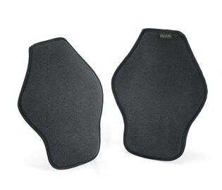 Nízkoprofilové chrániče kolien Defcon5® Soft - čierne
