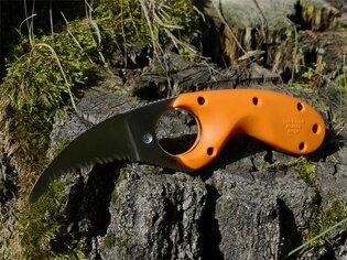 Nôž na krk Bear Claw™ E.R. CRKT® - oranžový