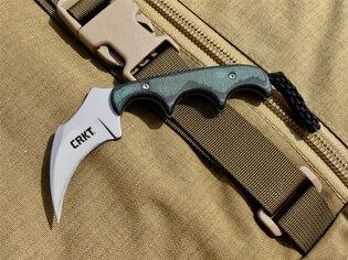 Nôž na krk Keramin™ CRKT® - zelený