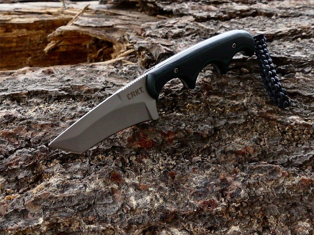 Nôž na krk Minimalist™ TANTO CRKT® - zelený