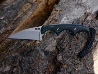 Nôž na krk Minimalist Wharncliffe™ CRKT® - zelený