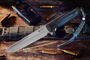 Nôž s pevnou čepeľou Kizlyar SUPREME® Aggressor D2