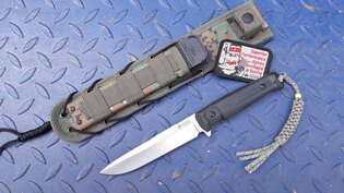 Nôž s pevnou čepeľou Kizlyar SUPREME® Alpha D2
