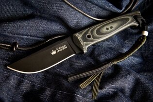 Nôž s pevnou čepeľou Kizlyar SUPREME® Nikki AUS 8