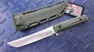Nôž s pevnou čepeľou Kizlyar SUPREME® Senpai AUS 8