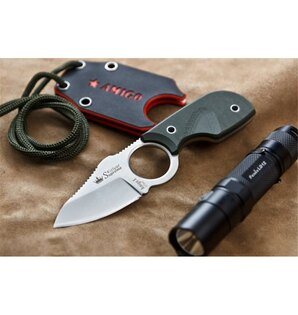Nůž na krk Amigo X KIZLYAR SUPREME® D2