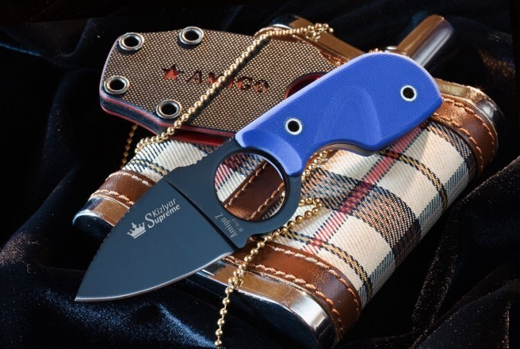 Nůž na krk Amigo Z KIZLYAR SUPREME® D2