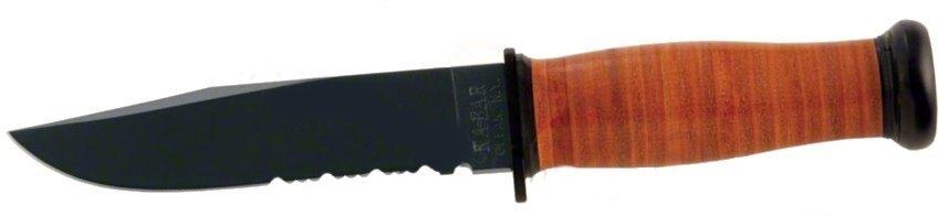 Nůž s pevnou čepelí KA-BAR® Mark I s kombinovaným ostřím