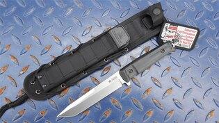Nůž s pevnou čepelí KIZLYAR SUPREME® Aggressor AUS 8