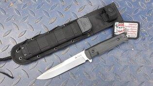Nůž s pevnou čepelí KIZLYAR SUPREME® Alpha AUS 8