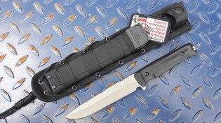 Nůž s pevnou čepelí KIZLYAR SUPREME® Alpha D2