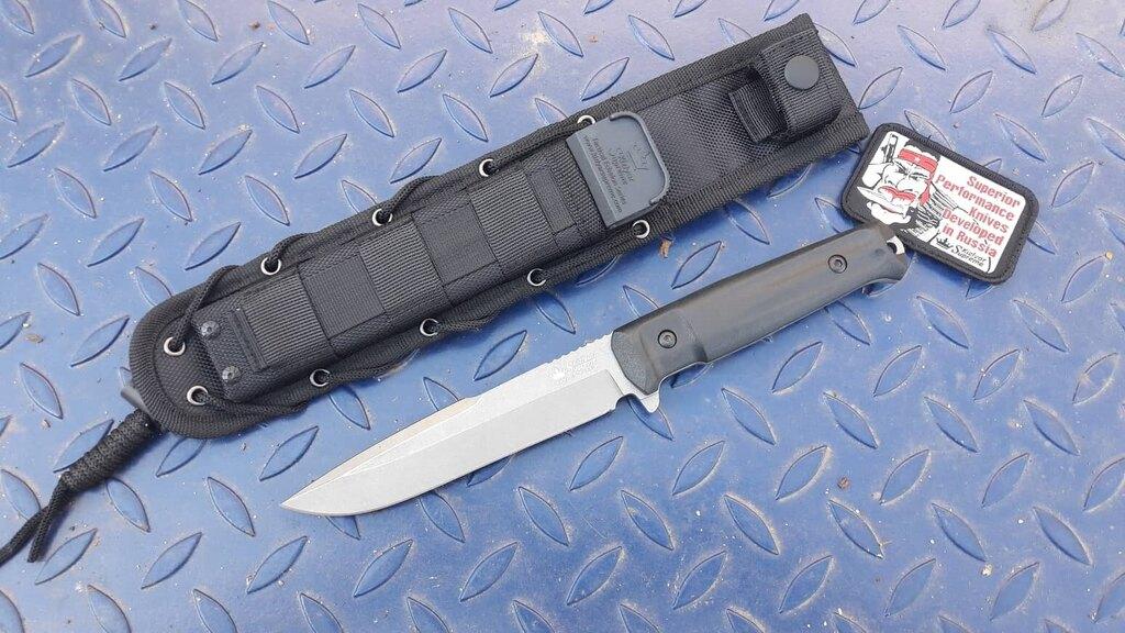 Nůž s pevnou čepelí KIZLYAR SUPREME® Delta AUS 8