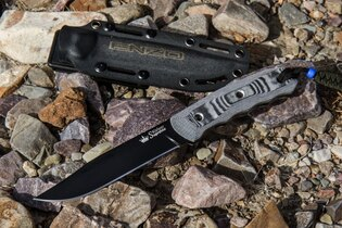 Nůž s pevnou čepelí KIZLYAR SUPREME® Enzo AUS 8