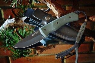 Nůž s pevnou čepelí KIZLYAR SUPREME® Kid 440C