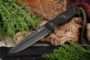 Nůž s pevnou čepelí KIZLYAR SUPREME® Legion AUS 8
