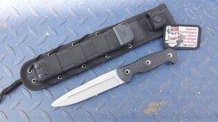 Nůž s pevnou čepelí KIZLYAR SUPREME® Legion D2 DSW - černý