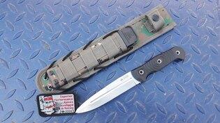Nůž s pevnou čepelí KIZLYAR SUPREME® Legion Niolox Stone Wash