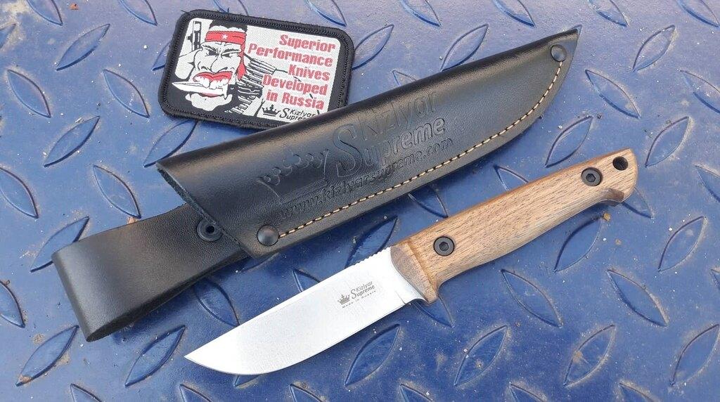Nůž s pevnou čepelí KIZLYAR SUPREME® Nikki AUS 8