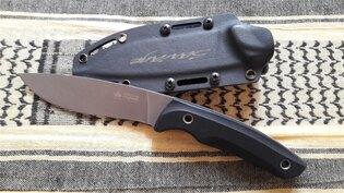 Nůž s pevnou čepelí KIZLYAR SUPREME® Savage AUS 8 DSW - černý