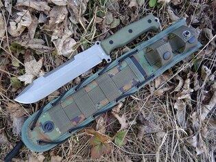 Nůž s pevnou čepelí KIZLYAR SUPREME® Survivalist X AUS 8 G-10