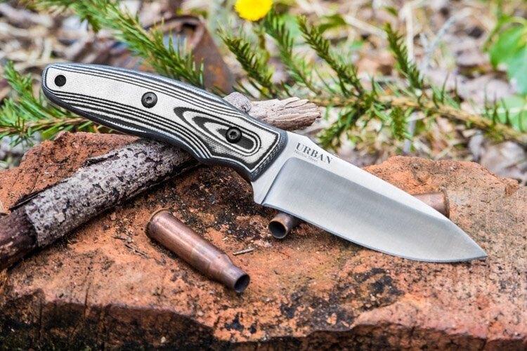 Nůž s pevnou čepelí KIZLYAR SUPREME® Urban Niolox