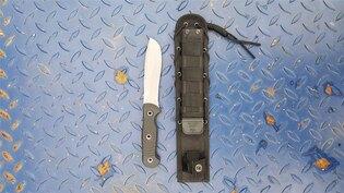 Nůž s pevnou čepelí KIZLYAR SUPREME® Vendetta AUS 8 DSW