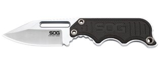 Nůž s pevnou čepelí SOG® Instinct - satin, černá rukojeť