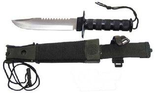 Nůž s pevnou čepelí Survival Jungle II FOX OUTDOOR®