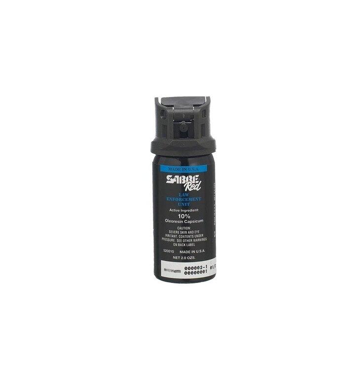 Obranný sprej SABRE® RED MK-3 rozprašovač - černý