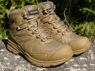 Obuv Waterproof Trail Mid Altama® - Coyote