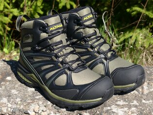 Obuv Waterproof Trail Mid Altama® - Green