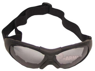 Ochranné okuliare MFH® Run, dymovo šedé šošovky