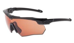 Ochranné strelecké okuliare ESS® Crossbow Suppressor One, medené HD šošovky