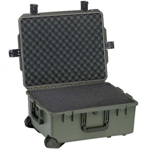 Odolný vodotěsný kufr Peli™ Storm Case® iM2720 s pěnou – zelený-oliv