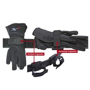 Opaskový držák na rukavice COP® velký pro vertikální nošení