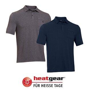 Pánská polo-košile UNDER ARMOUR® Charged Cotton® HeatGear®