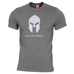 Pánske bavlnené tričko PENTAGON® Ageron Ring-spun Spartan helmet