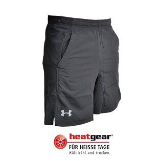Pánske krátke nohavice UNDER ARMOUR® HIIT Woven 20 cm HeatGear® - čierne