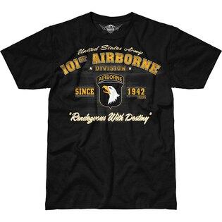 Pánské tričko 7.62 Design® 101st Airborne Vintage - černé