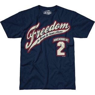 Pánske tričko 7.62 Design® 2nd Amendment Freedom - modré