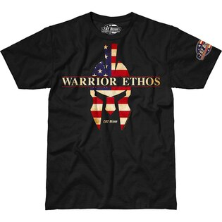 Pánske tričko 7.62 Design® American Warrior Ethos - čierne