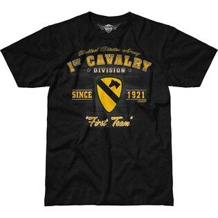 Pánske tričko 7.62 Design® Army 1st Cavalry Vintage - čierne