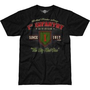 Pánske tričko 7.62 Design® Army 1st Infantry Vintage - čierne