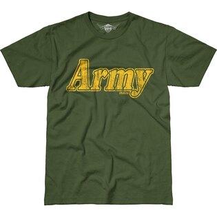 Pánske tričko 7.62 Design® Army Retro - zelené