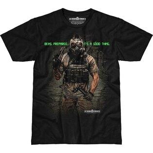 Pánske tričko 7.62 Design® Being Prepared - čierne