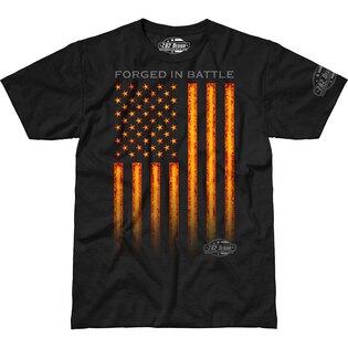 Pánske tričko 7.62 Design® Forged In Battle - čierne